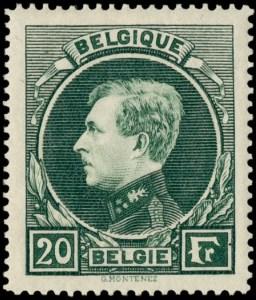 belgie-290a-ongestempeld