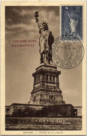 Frankrijk 1937 357 maxikaart