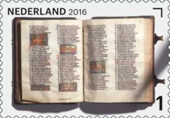 Jaar van het Boek postzegel 10