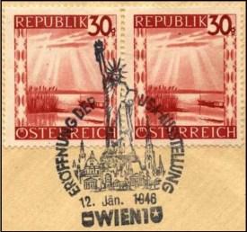 Stempel Oostenrijk 1946