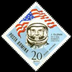 john-glenn-postzegel