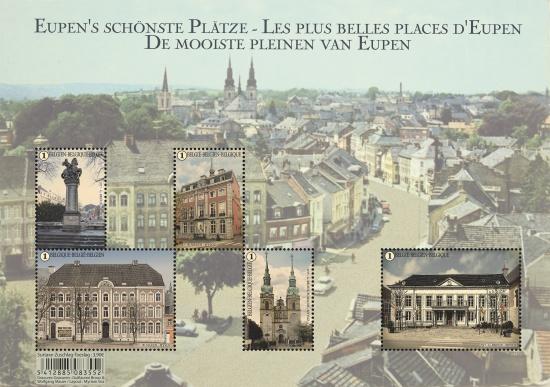 Eupen's schönste Plätze (Promotie van de Filatelie)