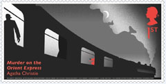 AC Murder on the Orient Express stamp