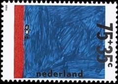 NVPH 1417 - Kinderzegel 1988 - Zwemproef