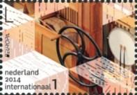 NVPH 3173 - Europazegels - draaiorgel