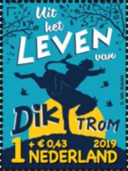Kinderpostzegel 2019 - Dik Trom