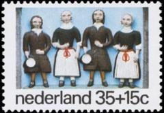 NVPH 1079 - Kinderzegel 1975 - weeskinderen