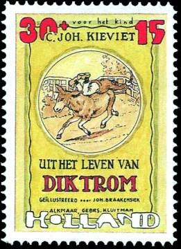 Uit het leven van Dik Trom - Joost Veerkamp