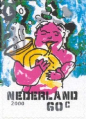 NVPH 1934 - Decemberzegel 2000