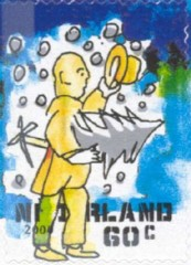 NVPH 1935 - Decemberzegel 2000