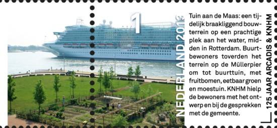 NVPH 3022 - Tuin aan de Maas in Rotterdam