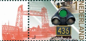 NVPH 3223 - 175 jaar spoorwegen in Nederland