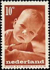 NVP 498 - Kinderzegels 1947