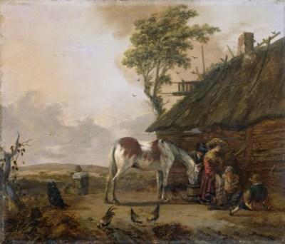 Het bonte paard, Jan Wouwerman (1629-1666)