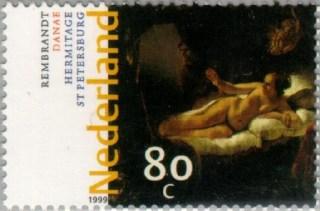 NVPH 1835 - Rembrandt Danaë