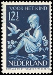NVPH 317 - kinderzegel 1938