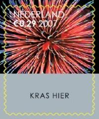 NVPH 2540 - Decemberkraszegel 2007