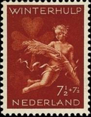 NVPH 426 - Winterhulp Volksdienstzegel