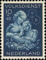 NVPH 426 - Winterhulp-Volksdienstzegel