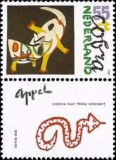 NVPH 1408 - Moderne kunst - Appel