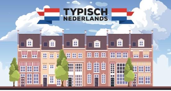 Typisch Nederlands - rijtjeshuizen [velrand boven]