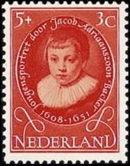 NVPH 667 - Kinderzegel 1955