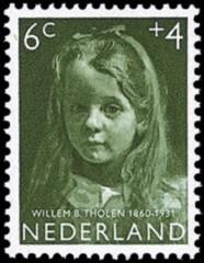 NVPH 703 - Kinderzegel 1957