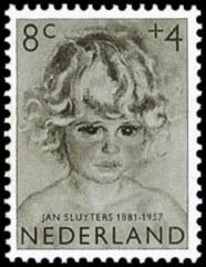 NVPH 704 - Kinderzegel 1957