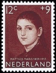 NVPH 705 - Kinderzegel 1957