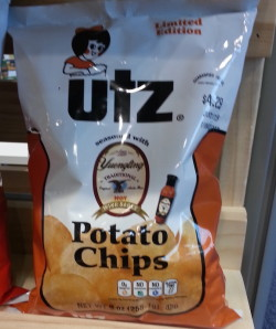 utz wing sauce chips