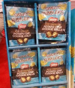sweet nibblers potato chip cookie balls