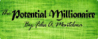 Logo The Potential Millionaire podcast blog with Felix A. Montelara