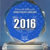 Potencial millonario award in best business Best coaching Best in consulting Felix A. Montelara Podcast Blog