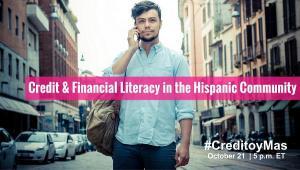 Author Felix A. Montelara Guest on Experian® Credito y Mas TweetChat