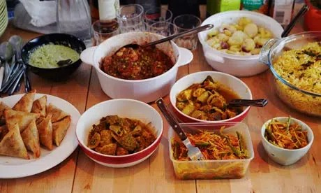 get together mauritian food
