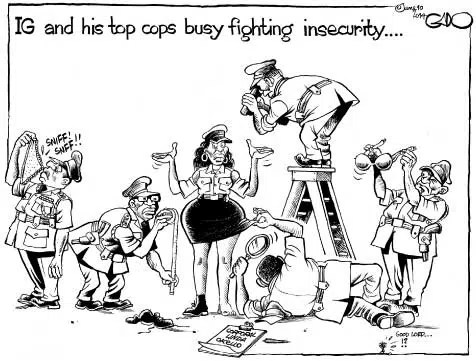 Remember this cartoon by Gado