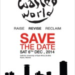 "TEDXNairobi ""A WasTED World?!"" will be happening tomorrow."