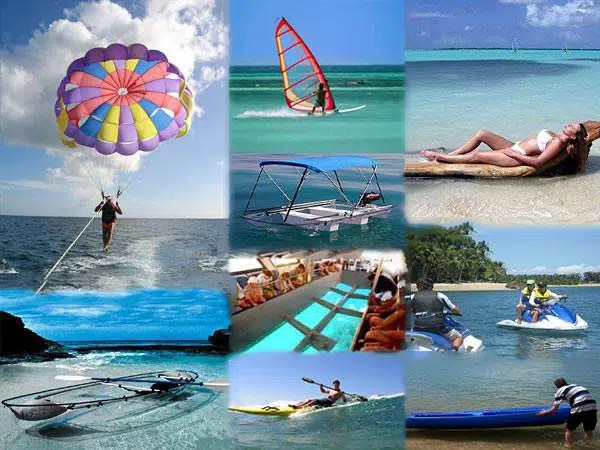 water sports in Mauritius