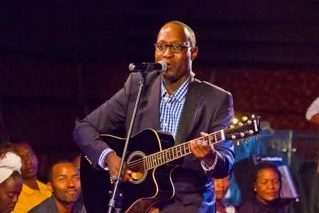 Benjamin Webi, the first Kenyan winner of the Airtel TRACE Music Star competition