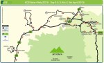 KCB Safari Rally Easter route, spectator stages and rally information