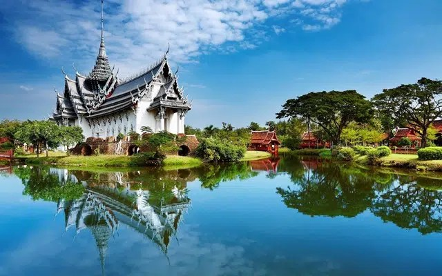 Historic House in Thailand