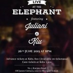 Juliani And KIU Will Be Performing Live At The Elephant