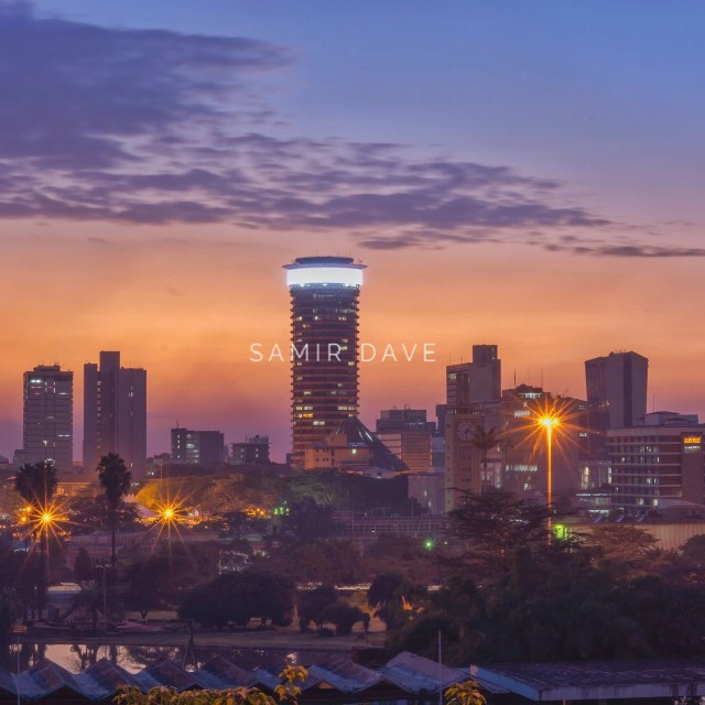 Beautiful Nairobi. Photo Credit Samir Dave.