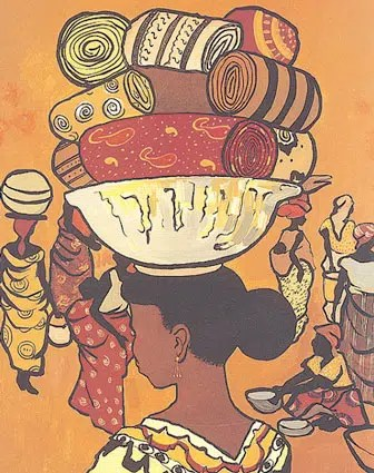 Market women - image from https://afrikaneye.wordpress.com/2007/03/08/the-effect-of-colonlialism-on-african-women/