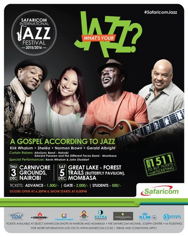 Safaricom Jazz Lounge December