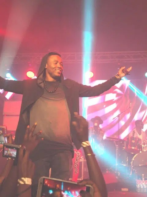 Ali Kiba on Stage