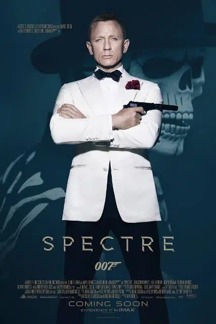 The new James Bond Spectre