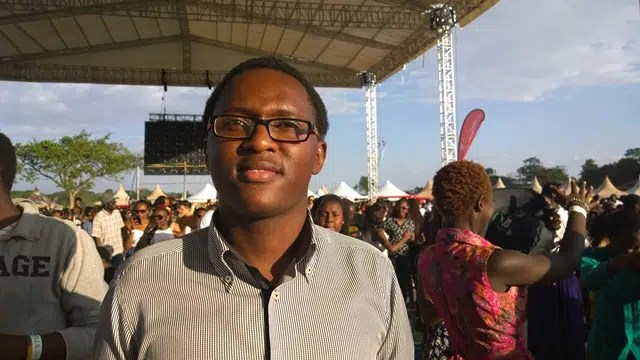 Chiira Maina at a concert