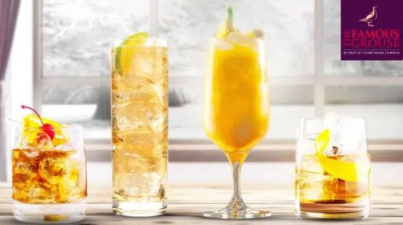Famous Grouse cocktails. Image from http://citylicious.net/the-famous-grouse-host-pop-up-bar/