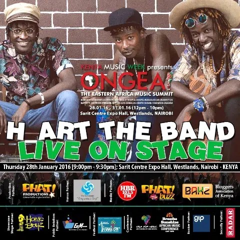 ONGEA! Eastern Africa Music Summit
